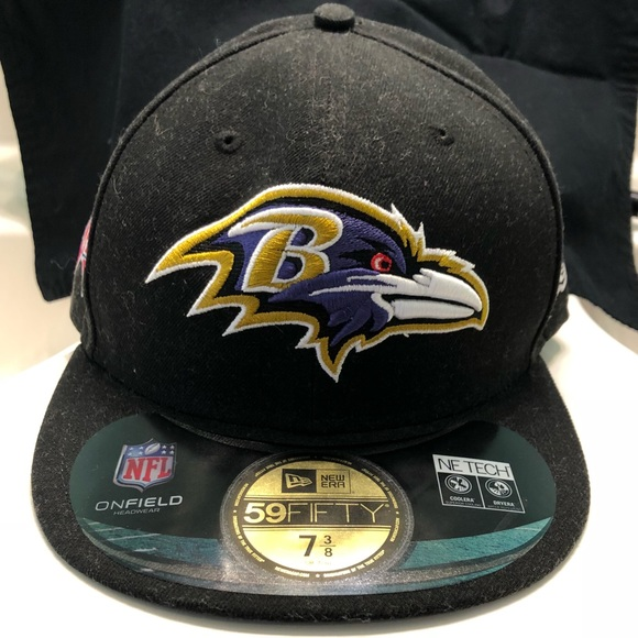 9be2471f1e4 NWT Baltimore Ravens fitted hat